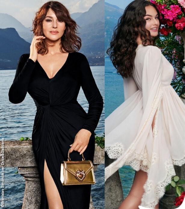 Lago di Como: Monica Bellucci e Deva Cassel, testimonial Dolce&Gabbana